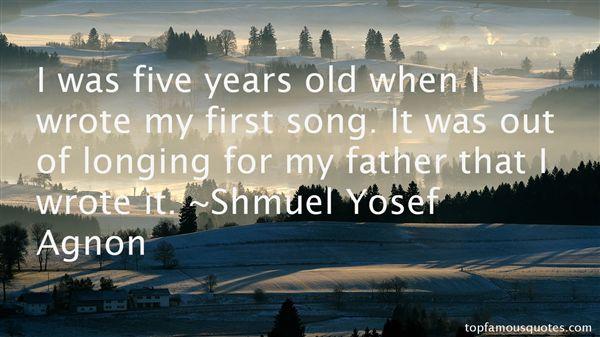 Shmuel Yosef Agnon Quotes