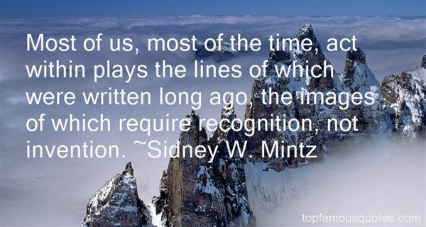Sidney W. Mintz Quotes