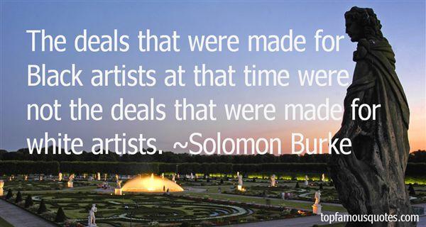 Solomon Burke Quotes