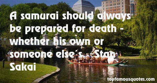 Stan Sakai Quotes