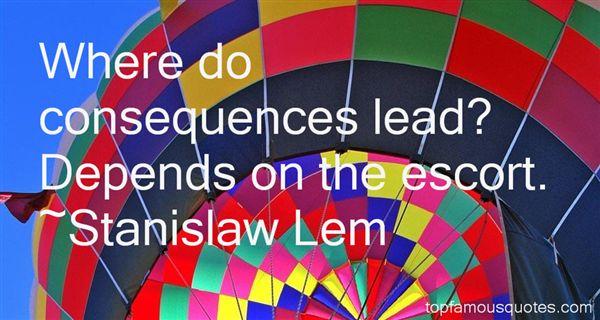 Stanislaw Lem Quotes