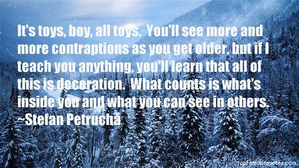 Stefan Petrucha Quotes