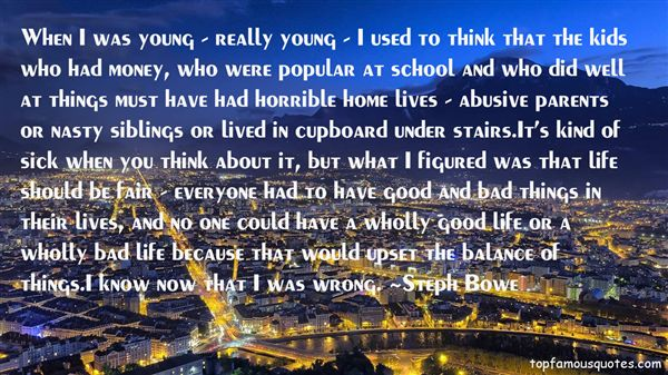 Steph Bowe Quotes