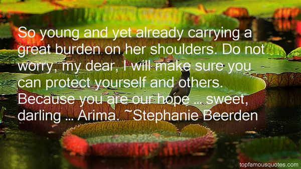 Stephanie Beerden Quotes