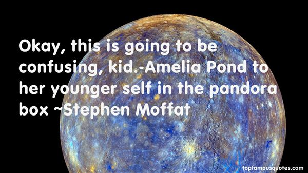 Stephen Moffat Quotes