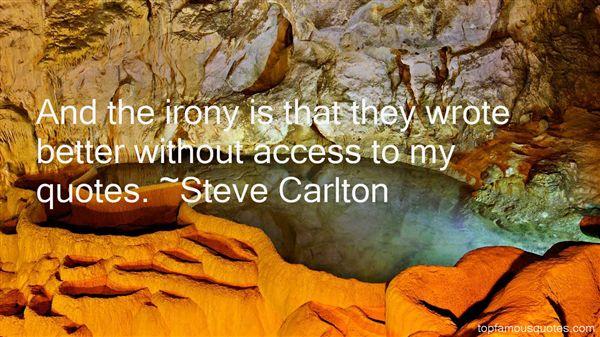 Steve Carlton Quotes