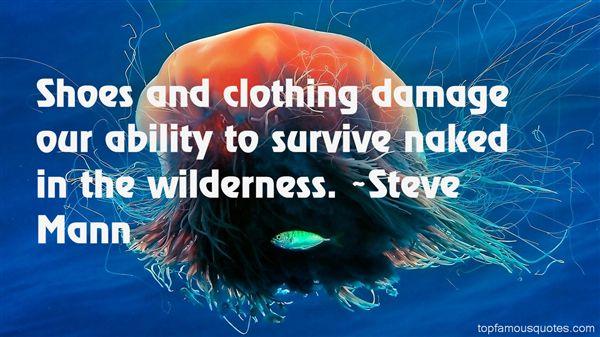 Steve Mann Quotes