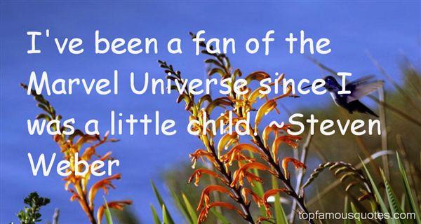 Steven Weber Quotes