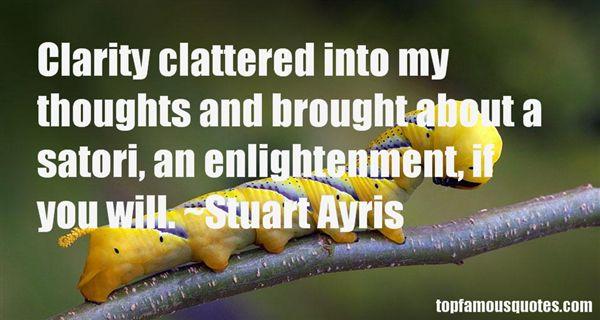 Stuart Ayris Quotes