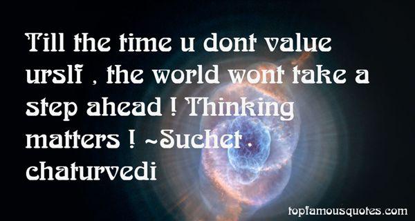 Suchet Chaturvedi Quotes