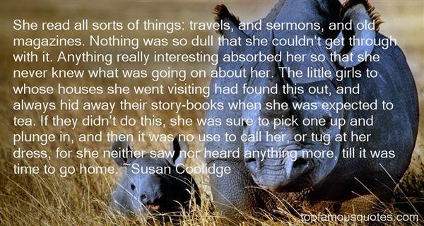 Susan Coolidge Quotes