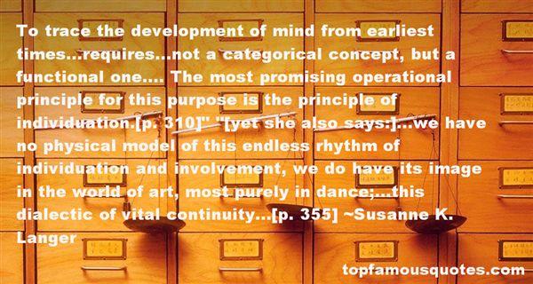 Susanne K. Langer Quotes