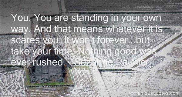 Suzanne Palmieri Quotes
