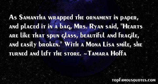 Tamara Hoffa Quotes