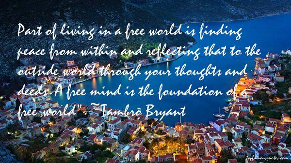 Tambré Bryant Quotes