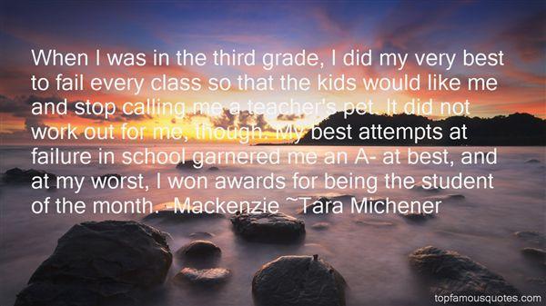 Tara Michener Quotes