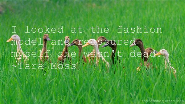 Tara Moss Quotes