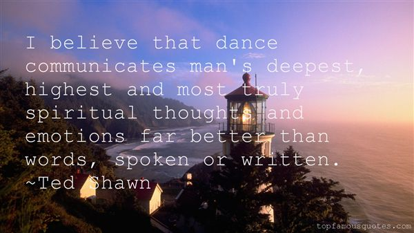 Ted Shawn Quotes