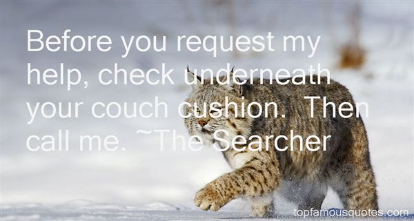 The Searcher Quotes
