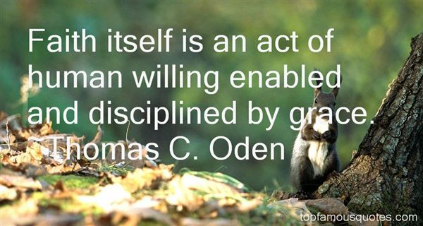 Thomas C. Oden Quotes