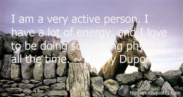 Tiffany Dupont Quotes