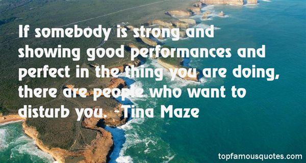 Tina Maze Quotes