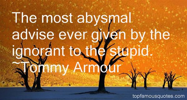 Tommy Armour Quotes