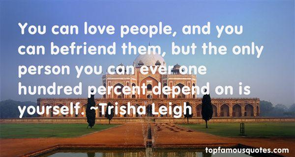 Trisha Leigh Quotes