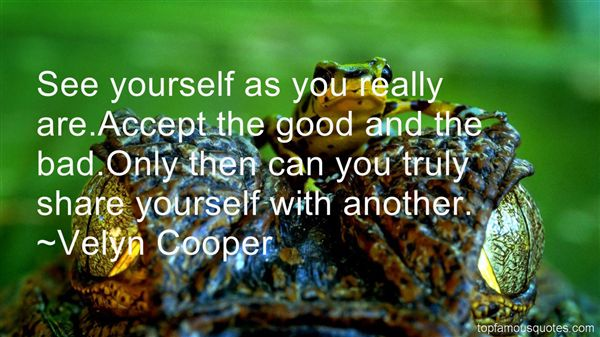 Velyn Cooper Quotes