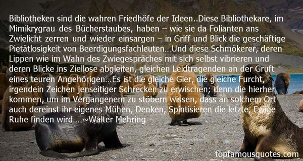 Walter Mehring Quotes