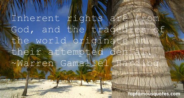 Warren Gamaliel Harding Quotes
