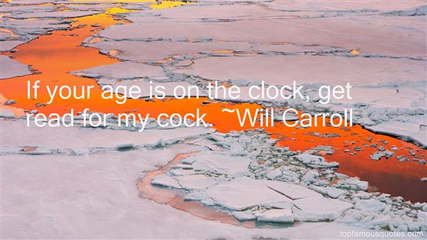 Will Carroll Quotes