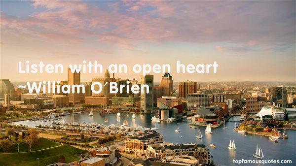 William O'Brien Quotes