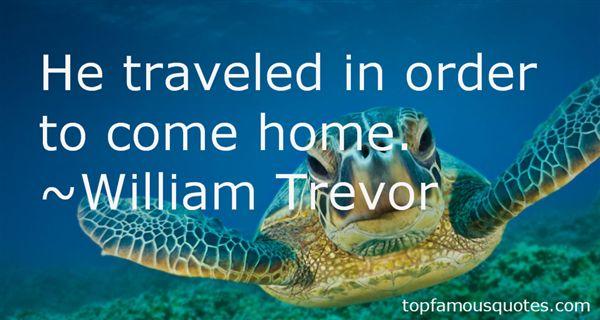 William Trevor Quotes