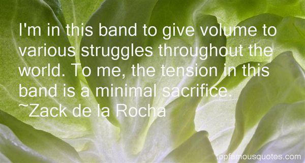Zack De La Rocha Quotes