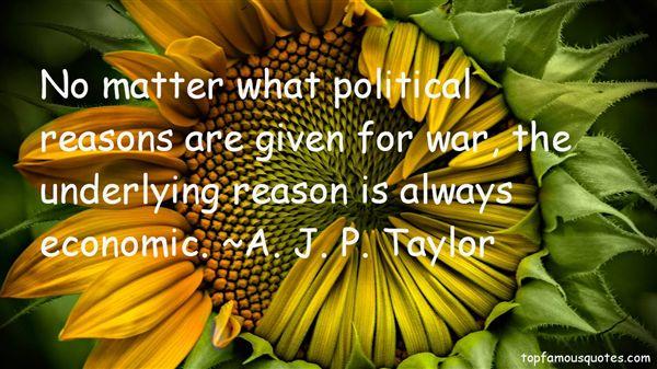 A. J. P. Taylor Quotes