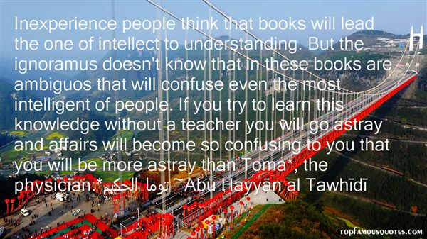 Abu Hayyan Al Tawhidi Quotes