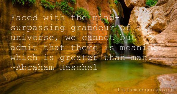 Abraham Heschel Quotes