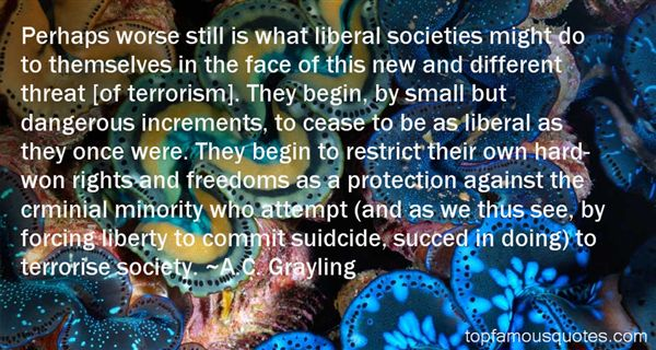 A.C. Grayling Quotes