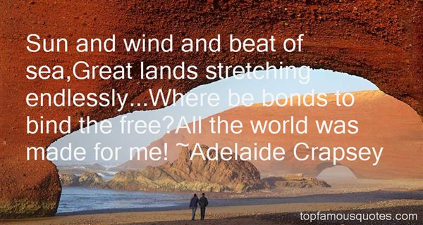 Adelaide Crapsey Quotes