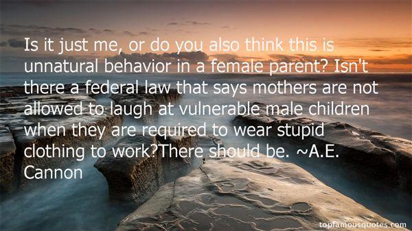 A.E. Cannon Quotes