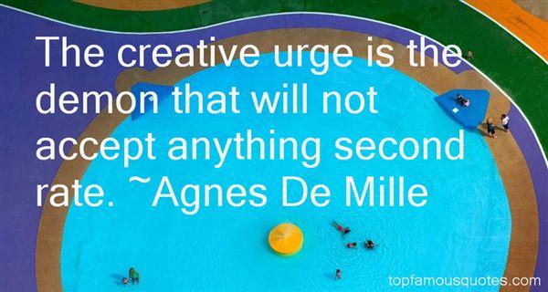 Agnes De Mille Quotes