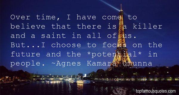 Agnes Kamara Umunna Quotes