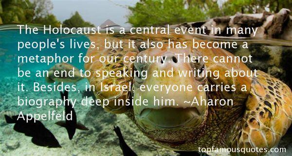 Aharon Appelfeld Quotes
