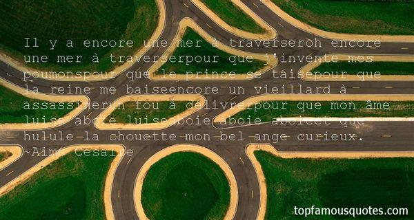 Aimé Césaire Quotes