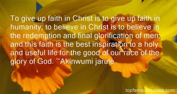 Akinwumi Jarule Quotes