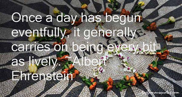 Albert Ehrenstein Quotes