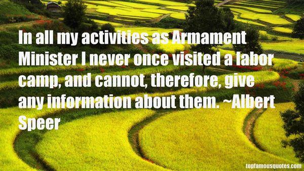 Albert Speer Quotes