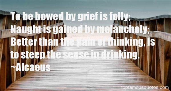 Alcaeus Quotes