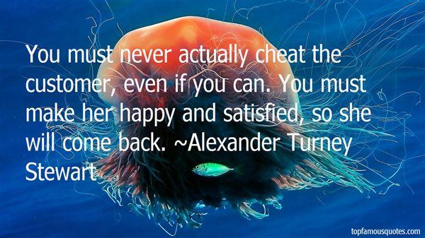 Alexander Turney Stewart Quotes